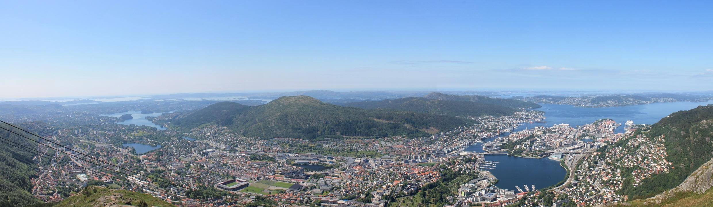 Kampanje mot salg av byrommet i Bergen til reklameselskaper